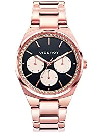 a0b91e39a4c5 Viceroy Reloj Multiesfera para Mujer de Cuarzo con Correa en Acero  Inoxidable 461090-57