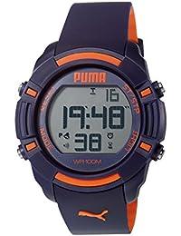 Puma Time Herren-Armbanduhr Sixty Bytes Digital Quarz Plastik PU911221002