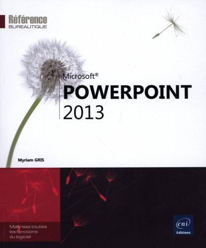PowerPoint 2013 par Myriam GRIS