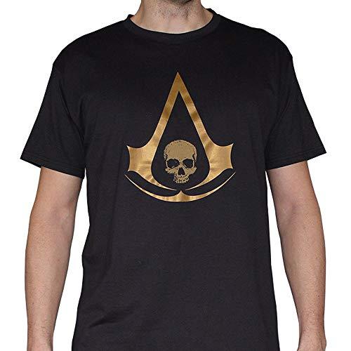 ABYstyle abystyleabytex256-m Abysse Assassin 's Creed Wappen AC4Gold kurzen Ärmeln Man T-Shirt (mittel)