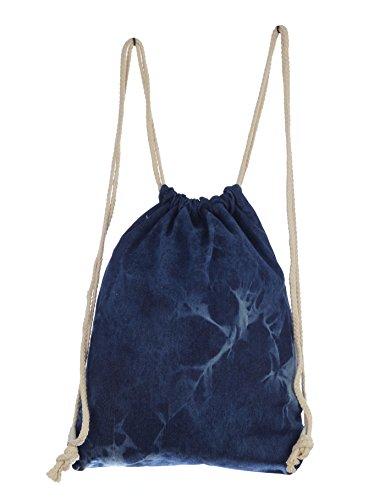 Imagen de turn bolsa hipster bolsa de deporte jeans butel bolsa  bolsa bolsa de bordar con estrella bolsa de deporte azul, color azul vaquero, tamaño small alternativa