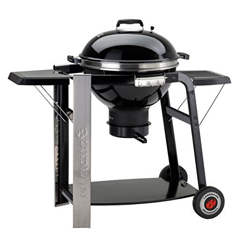 Landmann 31346 Barbecue Charbon Boule Black Pearl Select 56 cm