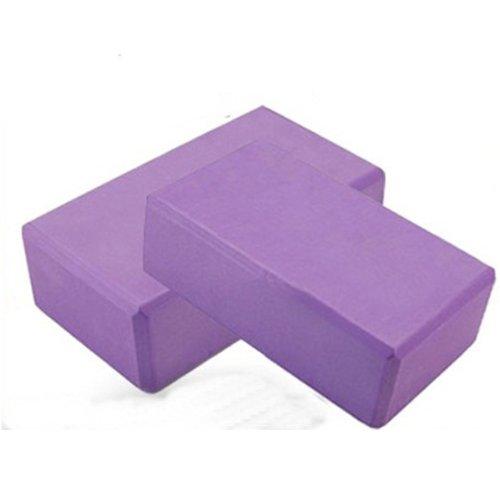 Yoga Block Yoga Pilates Foam Brick Stretch Health Fitness Exercise Tool by...