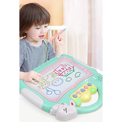Maharaj Magnetic Drawing Board Erasable Colorful Magna Doodle Drawing Board Educational Toys for Kids
