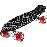 "Ridge 27"" Big Brother Mini Cruiser Skateboard con LED Ruedas"