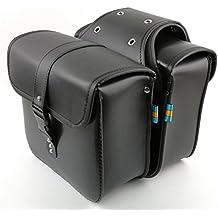 1 paio di borse laterali laterali in pelle PU impermeabile posteriore  sedile da sella borsa da ad93143b943c