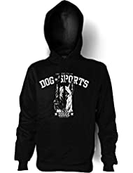 Dog Sports Kapuzen Sweatshirt: Dogge