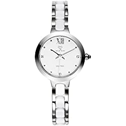 Fashionable quartz Bangle watch/Waterproof ceramic watch/Simple casual watches-B