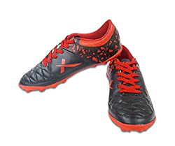 Vector X Fizer Football Shoes (Black-Red) (3)