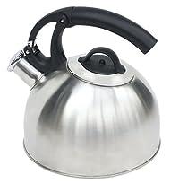 Home Basics Tea Kettle, 2.5-Liter, Easy Open