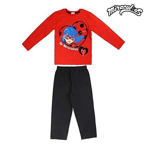 Cerdá Pijama Ladybug Prodigiosa Algodón (7/8 años)