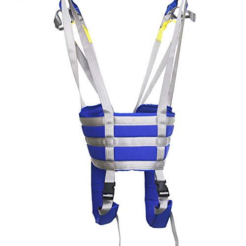 41mS5t1iXVL - GXJ Acolchado Aseo Paciente Levantar Honda con Cinturón, 510Lb Peso Capacidad con Antideslizante Interior Almohadilla No Paseo Arriba Mas Rapido Más Fácil Más Seguro Traslados Y Aseo Azul