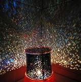Geschenk-Idee! MagicLightz LED Starry Sky Projection Farbwechsel Nachtlicht, LED-Kerze, Preis / Stück Geschenk