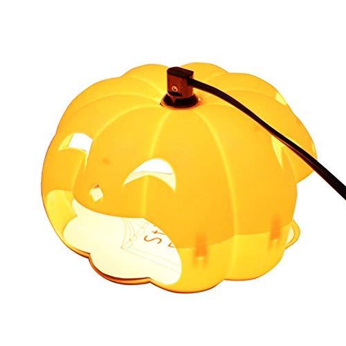 BUG-LPH Pet Home Essential Flohfalle, Kunststoff Mute Cute Pumpkin Trap Light