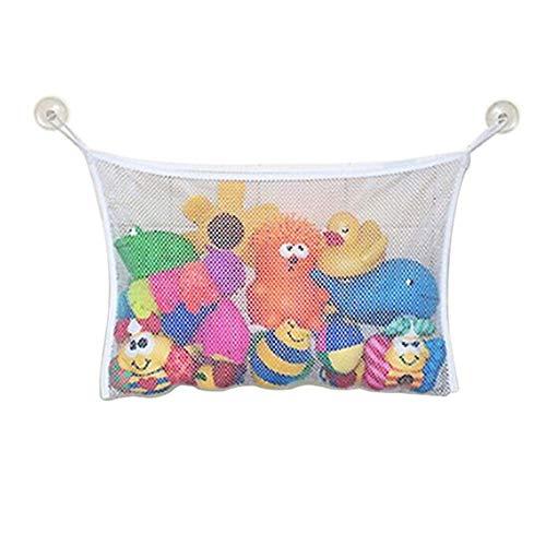 Bad Spielzeug Veranstalter Bad Mesh Spielzeug Tasche Bad Spielzeug Speichernetz Spielzeug Vorratsbehälter Spielzeug Aufbewahrungstasche für Kinder Baby von Iswell