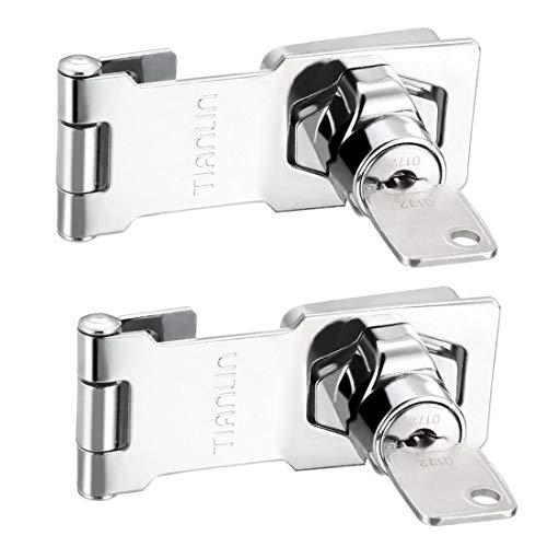 ZCHXD Keyed Hasp Lock 3.74
