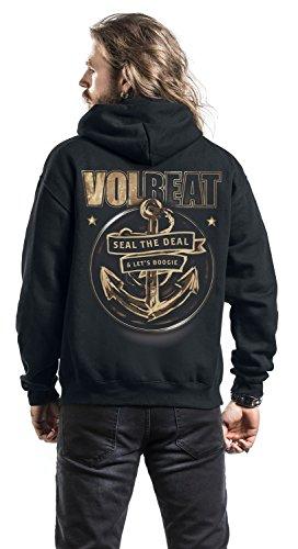 Volbeat Anchor Kapuzenjacke schwarz Schwarz