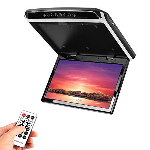 Kungfu Mall 15,6 Zoll HDMI 1080p Auto Dachmontage Auto Decke Flip Down TV Digital Screen Monitor (Flip-down-auto-tv)