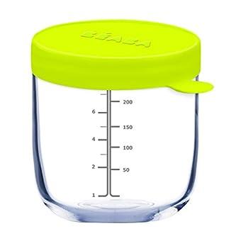 BÉABA Portion Pot de Conservation en Verre, Néon, 250 ml