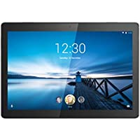 "Lenovo TAB M10 Tablet, Display 10.1"" HD IPS, Processore Qualcomm Snapdragon 429, 32GB espandibili fino a 128GB, RAM 2GB, WiFi+LTE, Android Oreo, Slate Black"