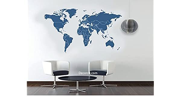 Buy World Map Stencil Online at Low Prices in India - Amazon.in