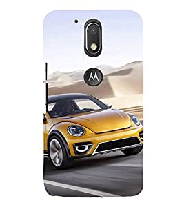 Luxury Car 3D Hard Polycarbonate Designer Back Case Cover for Motorola Moto G4 Plus :: Moto G4+