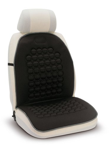 Bottari 12087 Schienale imbottito Java con funzione massaggiante, colore nero