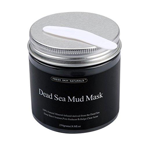 Rcool 250g Reiner Körper Naturtalente Schönheit Schlamm Des Toten Meeres Maske Für Gesichtsbehandlung (Awesome Halloween Masken)