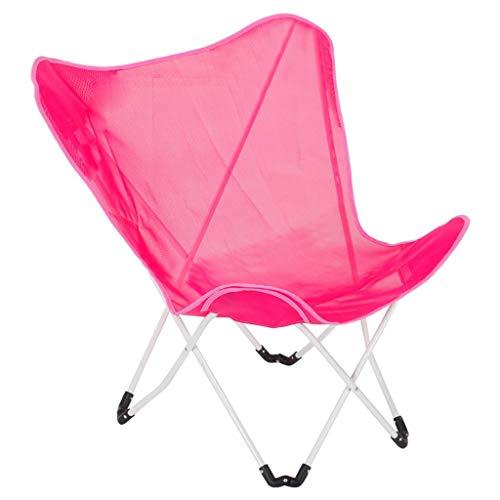 SEEKSUNG Accueil Vie Loisirs Chaise, Papillon, Balcon Pliant, Lazy Couch, Loisirs Soleil, Chaises - Rose