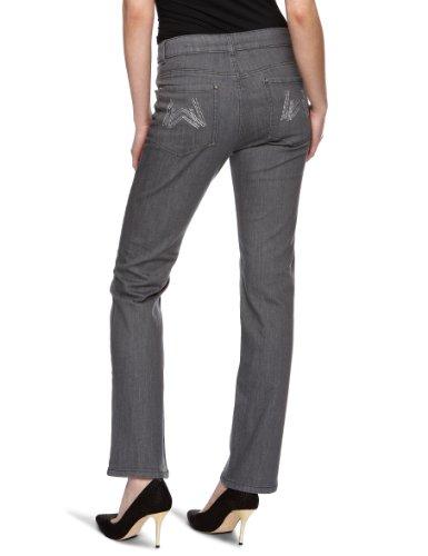 Wizard Jeans Jude - Jeans - Droit - Femme Gris
