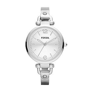 Reloj Fossil ES3083 de cuarzo para mujer con correa de acero inoxidable, color plateado de FOSSIL