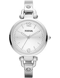 Fossil damen armbanduhr xs analog edelstahl es3083