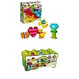 Lego Duplo 10848 - Meine ersten Bausteine + Große Steinebox, Kreatives Lernspielzeug