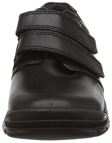 Start Rite Jungen Ingenieur Schwarz Low Top Sneaker Schwarz (Black)