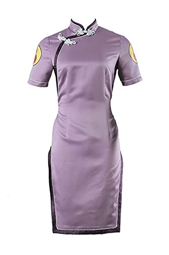 Souler De-Cos Cosplay Costume Hidden Leaf Village Shinobi Hyuga Hinata Dress Outfit V5
