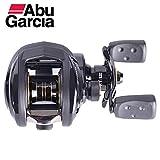 Delicacydex Mulinello da Pesca Abu Garcia PRO Pmax3-L Baitcasting Water Drop Wheel 7.1: 1 Rapporto di Trasmissione 8KG Strumento di Pesca con Cuscinetto per la Mano Sinistra
