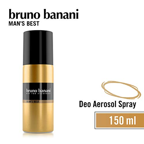Bruno Banani Man\'s Best Deodorant Body Spray, maskulin, 1er Pack (1 x 150 ml)