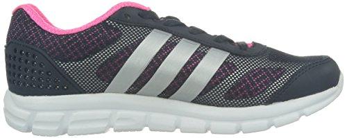Adidas, Breeze 202 2 W, Scarpe sportive, Donna NTGrey/SILVMT/SOPINK