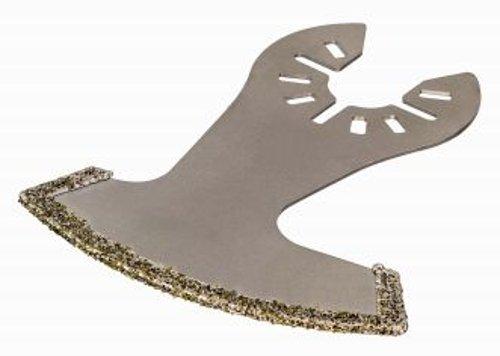 DeWalt Diamant Sägeblatt (75 x 60 mm, Schnittbreite 2,4 mm, Multitool-Zubehör- zum Auffräsen von Fliesenfugen und Schlitzen in Putz, extra lange Standzeit) DT20739