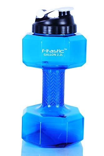 Fitastic Hercules Dumbbell Gallon, 2.2 L (Blue)