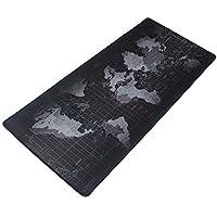 لوحة ماوس للألعاب مطاطية ممتدة غير قابلة للانزلاق مقاس XXL (90 سم × 40 سم)