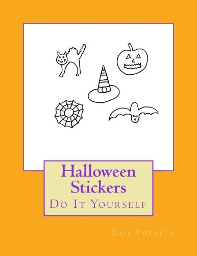 Halloween Stickers: Do It Yourself