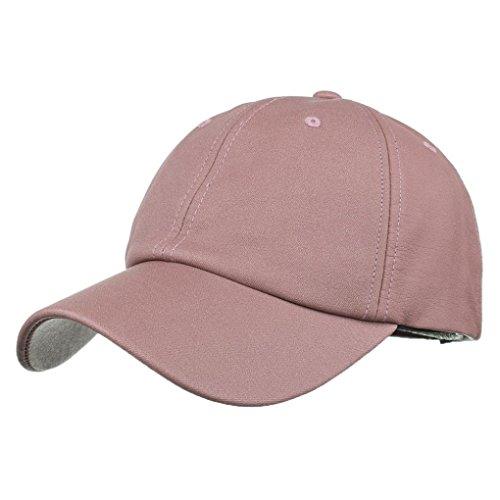 Heißes!!Damen Herren Sonnenschutz Baseball,OYSOHE Neueste Frauen Herren Baseball Cap Snapback Hut Hip Hop einstellbar Unifarben Outdoor Hut 2018