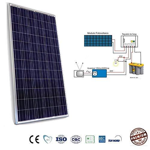Placa Solar 330w Panel Solar Fotovoltaico Polycrystalline para Sistema 12v 24v 48v