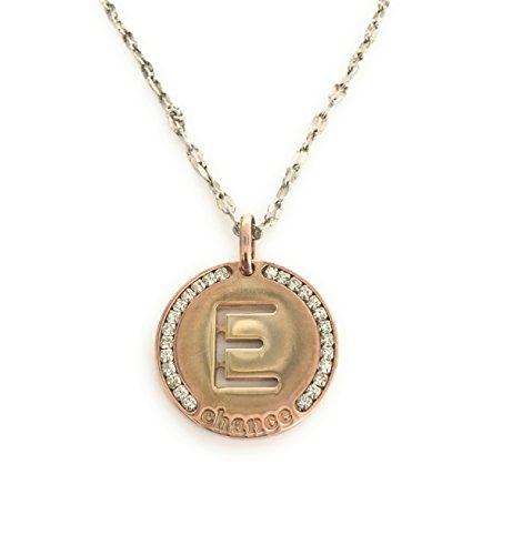 chance-necklace-letter-e-with-zirconia-chain-in-zama-and-bronze-pendant-with-zirconia-80cm-co-ch-226