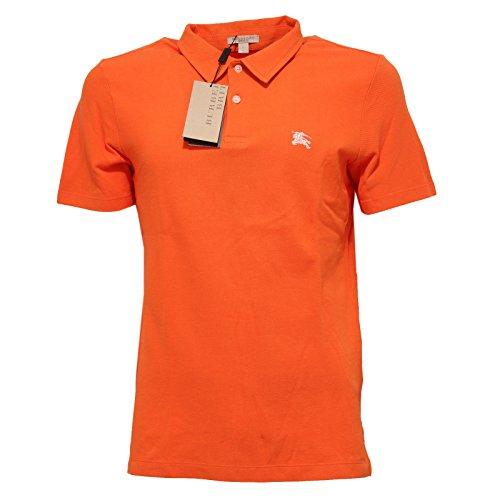 9223Q polo uomo BURBERRY BRIT maglia arancione t-shirt men [S]
