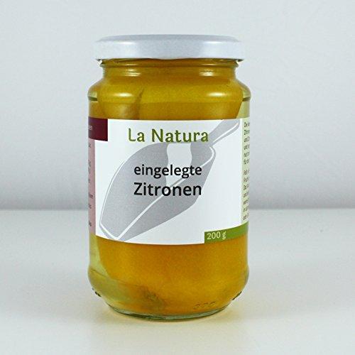 La Natura eingelegte Zitronen das Original aus Marokko Salzzitronen - 200g (EUR 2,85/100g)