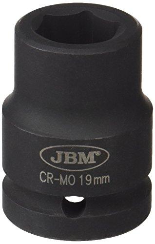 'JBM 11121 - Douille à chocs 6 pans 1/2, 19 mm)