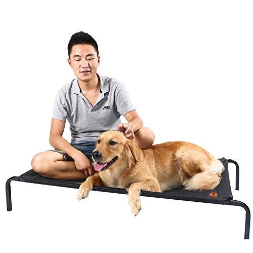 Cooling Erhöhtes Haustierbett,Hundeliege Mit Dach Hundebett Baldachin Schlafplatz Hundesofa Hunde Liege Haustierbett Katzenbett (Size : L) -