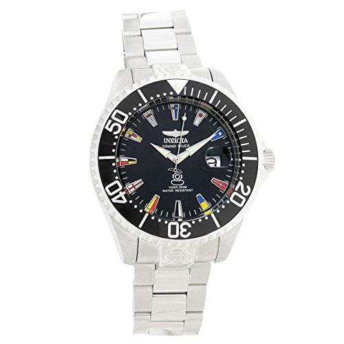 Invicta 21323Herren 47mm Grand Diver International Automatische Armband Silber Armbanduhr